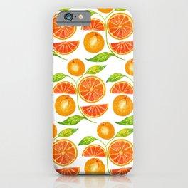 Juicy Grapefruits iPhone Case