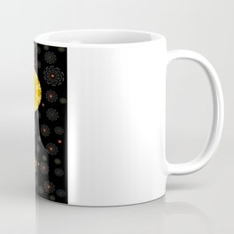 Color And Strawberrys Coffee Mug