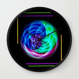 Abstract in perfection Wall Clock