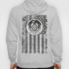 Faith Hope Liberty & Freedom Eagle on US flag Hoody
