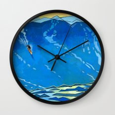 Big Wave Wall Clock