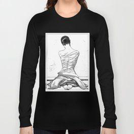 asc 597 - Les amatrices III (Sketchwork) Long Sleeve T-shirt