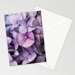 Shabby Chic Purple Hydrangea  Stationery Cards