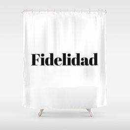 Fidelidad Shower Curtain