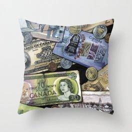 Birthday Money Throw Pillow