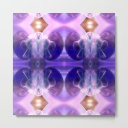 Astronaut of glass and light Metal Print