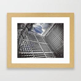 Arche de la Défense Paris [Sky cut N°421] France Framed Art Print