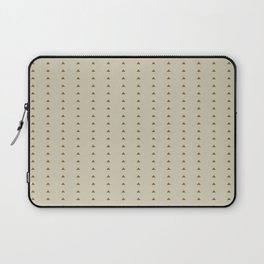 Mini triangle pattern - Warm caffee Laptop Sleeve