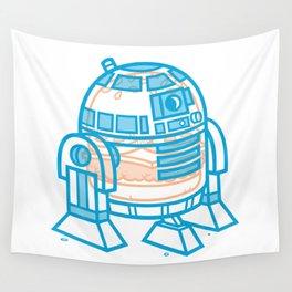 Cheeseburger R2-D2 Wall Tapestry