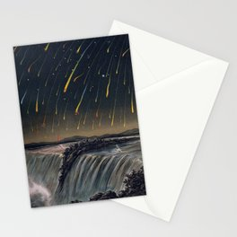 Edmund Weiss - Leonid Meteor Storm, 1833 (1888) Stationery Cards