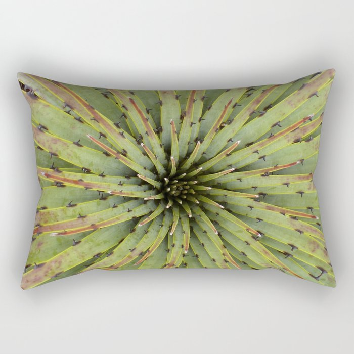 Succulent symphony Rectangular Pillow