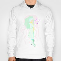 clear Hoodies featuring Clear by OctopusDisco