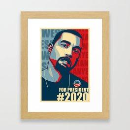 2020 President Framed Art Print