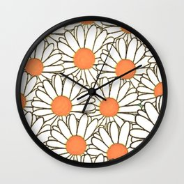marguerite-62 Wall Clock