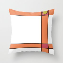 Anemone Dress Throw Pillow