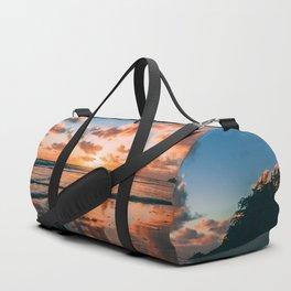 Sunset on the Beach Duffle Bag