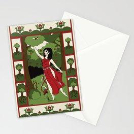 Divine Dames: Vesna Stationery Cards