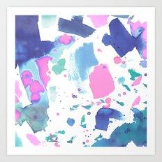 Watercolor Splash 2 Art Print