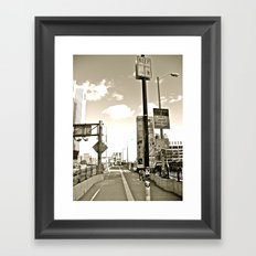 WHITEOUT : Under Surveillance Framed Art Print