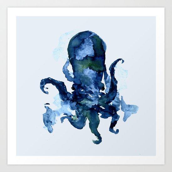 Oceanic Octo Art Print