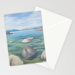 Winter Cove Stationery Cards