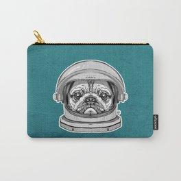Astronaut Pug Carry-All Pouch