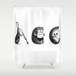 Woodland Animals (ABC) Shower Curtain