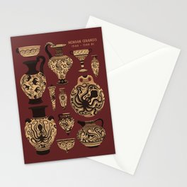 Late Minoan Ceramics - Ancient Pottery Series Stationery Cards