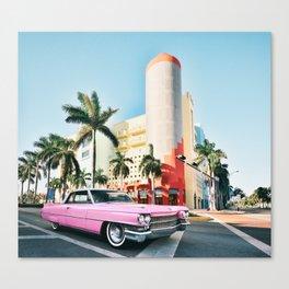 Pink Cadillac , Miami Beach Florida Leinwanddruck