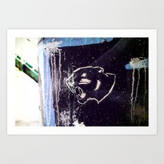 Feirce  Art Print