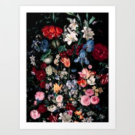 Midnight Garden XVII Art Print