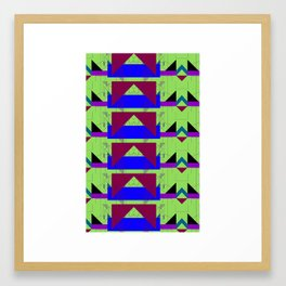 basique Framed Art Print