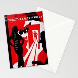 Hardboiled :: Red Harvest :: Dashiell Hammett Stationery Cards