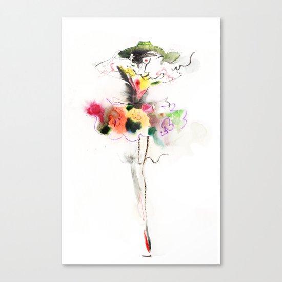 woman fashion Canvas Print