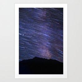 Interstellar Nightscape Art Print