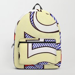 roy lichtenstein Backpack