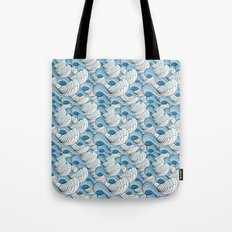 Life is a journey - surf waves Tote Bag