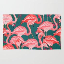 flamingo tropical Rug