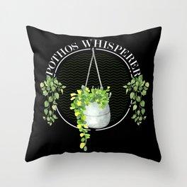 Plant, Plant House plant, Pothos Throw Pillow