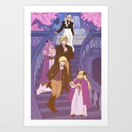 Family of Nohr Art Print