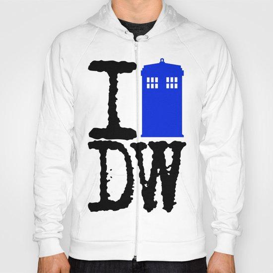 I Love Doctor Who! Hoody