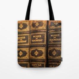 Antique Books - Thackeray Tote Bag