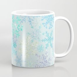 icy snowflakes Coffee Mug