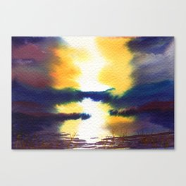 The Event Canvas Print