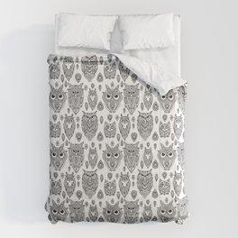 Tribal Owl Comforters