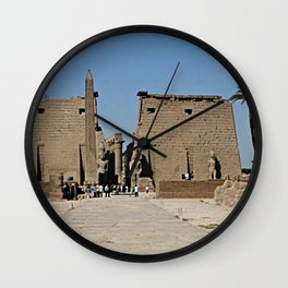 Temple of Luxor, no. 13 Wall Clock