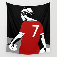 liverpool Wall Tapestries featuring Liverpool FC Legendary No.7 Kenny Dalglish  by jt7art&design