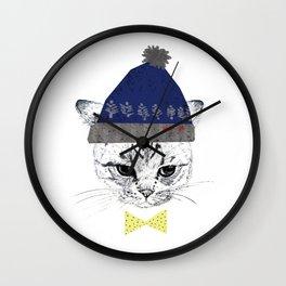 ribbon3 Wall Clock