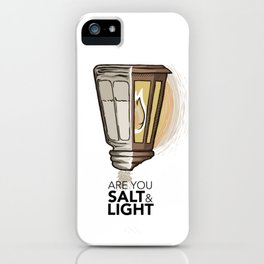 #2 Salt and Light iPhone Case