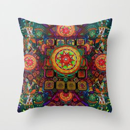 Returning to the roots Throw Pillow